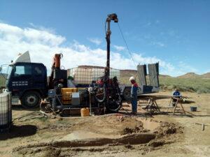 Estudio geotécnico en Enresa