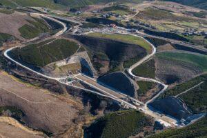 Túnel del proyecto Espiño