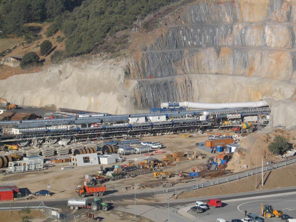 Túnel del proyecto Pajares