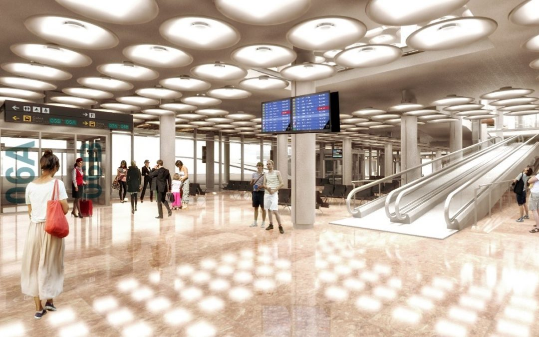 Ingeniería: Terminal de Autobuses de la T4 del Aeropuerto Adolfo Suárez – Madrid Barajas
